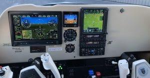 Bonanza avionics upgrade with Garmin.