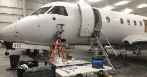 Avionics upgrades to commercial aircraft.