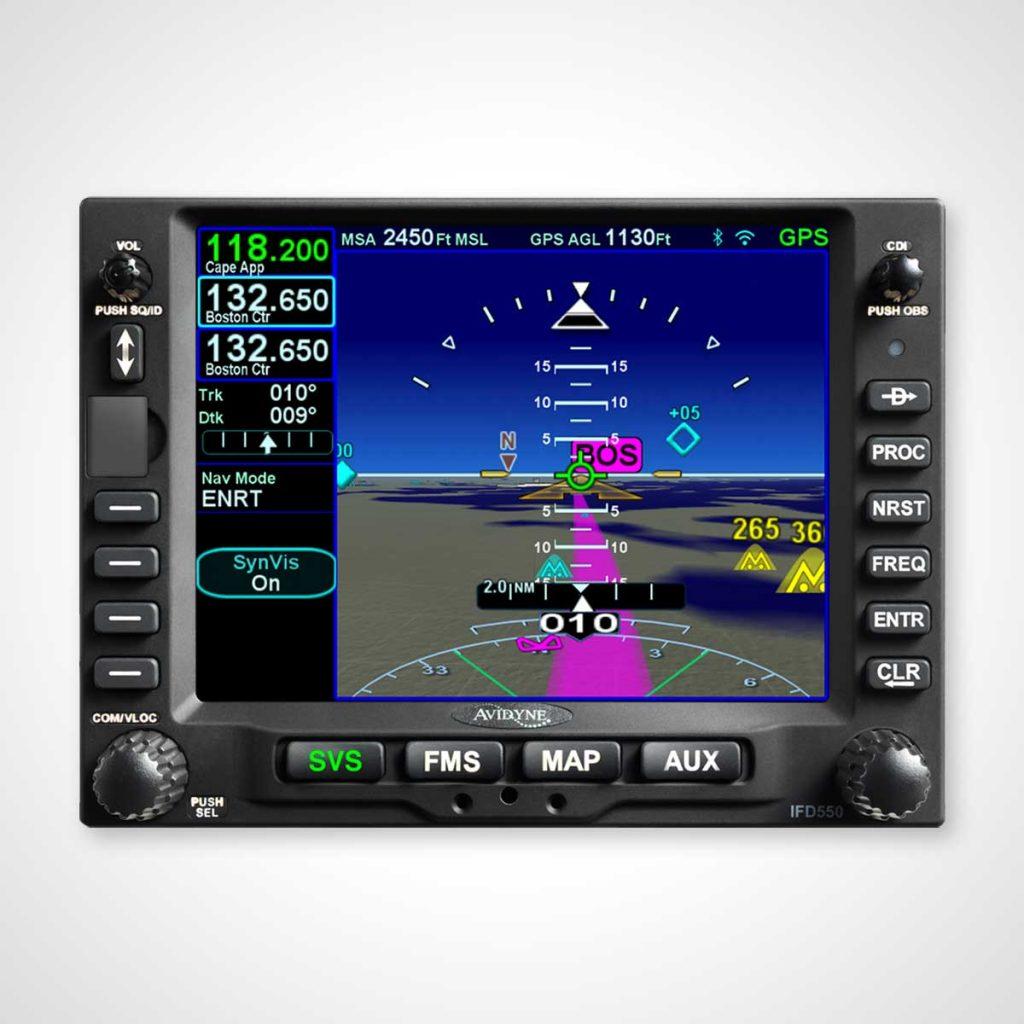Avidyne IFD550 GPS/NAV/COMM
