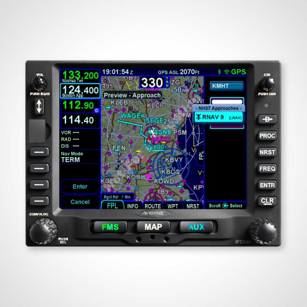 Avidyne IFD540 GPS/NAV/COMM